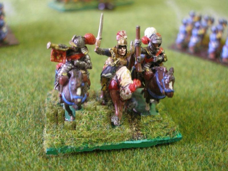 Das Ende der Schlacht… Als sich auf spanischer Seite in diesem Moment der Schlacht 7 Einheiten, darunter 4 Core Einheiten, - also für die Schlacht entscheidend wichtige -  zur Flucht wenden, bricht die Moral der spanischen Armee..! Ein großer Polnisch-Litauischer Sieg…!!!