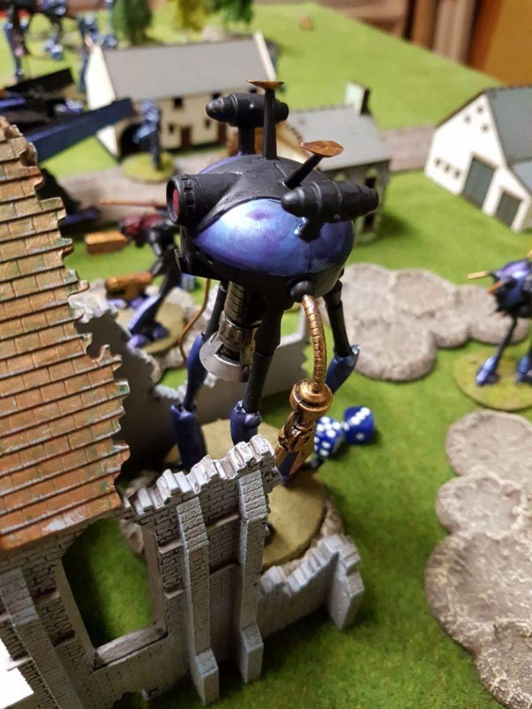 """Front 46, Krieg der Welten: Das Fantasy-Game """"WW2-Kampfzone"""" von Udo Zipelius wurde am Weekend bei den Ad Arma in Hassloch zelebriert."""