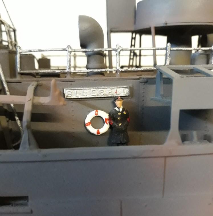 """Die """"Bluebell"""" ist eine der Neuerwerbungen des Nilkheimer Flottenverbandes. Hier hat sich Josef mal wieder ein wenig arbeit aufgehalst. Es gibt viel zu tun. Aber dem Geschwwader wird das neue Schiff sicher gut tun."""