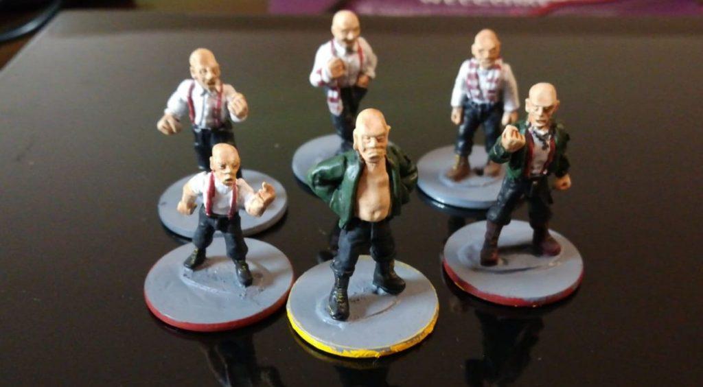 Sechs Hooligans aus Halvarsons AGGRO-Truppe für den Skirmisher.