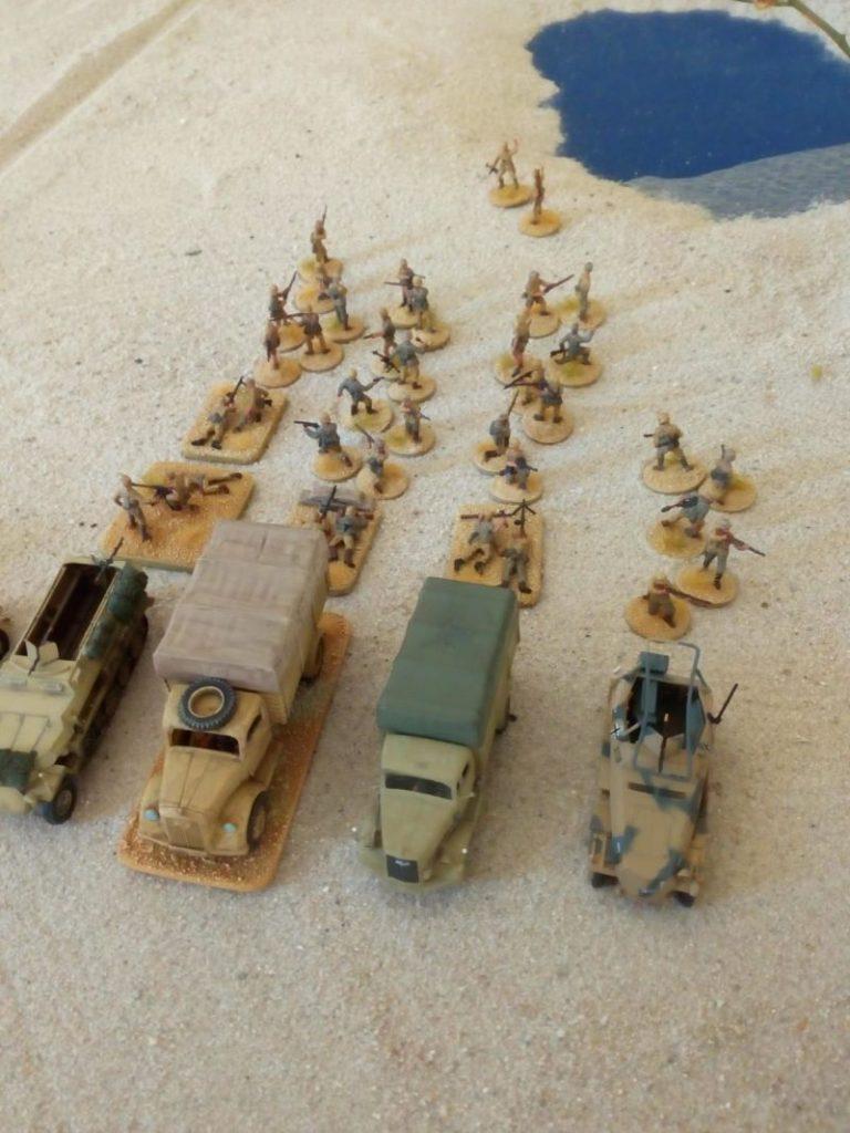 """Die Bolt Action """"Desert Battle"""" irgendwo bei Bir Hacheim oder Sidi Barani."""
