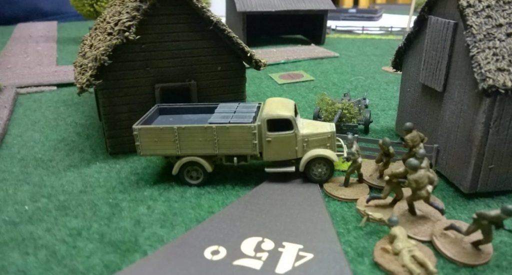 Beim Small Prochorowka Spiel hatte Infanterie eine größere Rolle im Spiel einnehmen können. Wie hier, als sie in die Gefechte im Dorf eingreifen konnte.