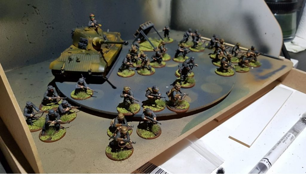Davids Bolt Action Army.