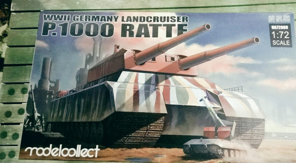 WWII German Landkreuzer P1000 Ratte, von Modelcollect ArtNr. UA72088