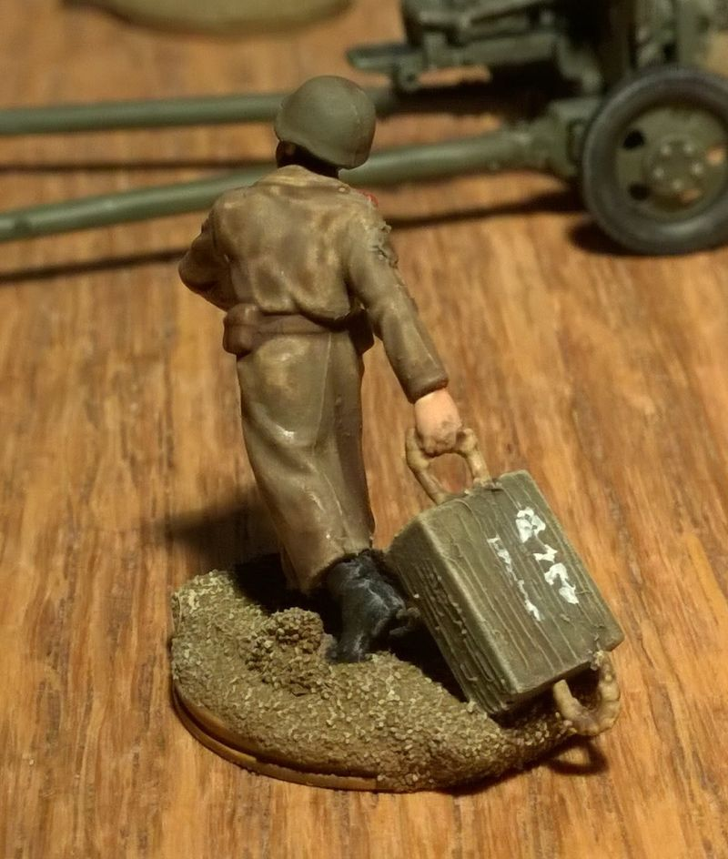 Italeri 6880 ZIS 3 76 mm Pak AT Gun mit Bedienung