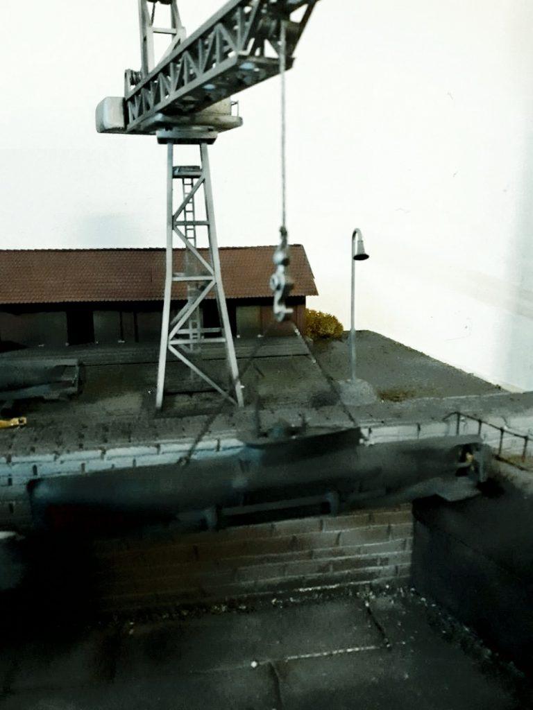 Die erste Aufgabe für den Kran: der Seehund!