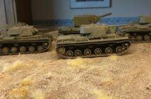 Rally the Horde: vier KW-1 und ein KW-2 für die Sturmi Army