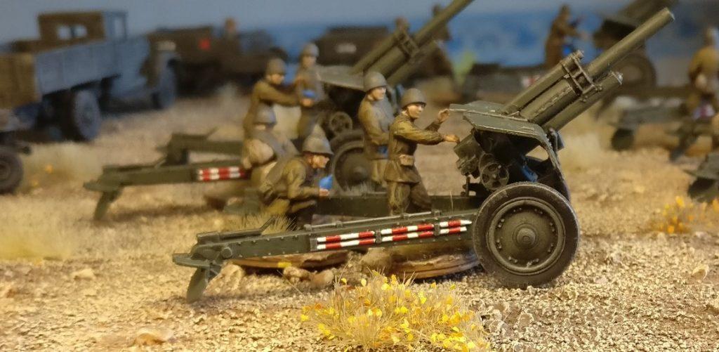 Feuer Laden! Feuer! die Zvezda 6122 Soviet Howitzer 122mm M-30 hauen raus, was geht.