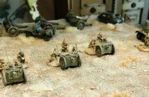 Zvezda 6145 Soviet 76mm Gun and Crew geht in Stellung
