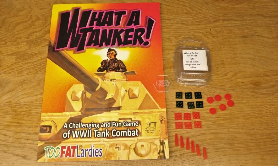"""Das Rule Book des Game """"What a Tanker"""" von den Too Fat Lardies habe ich mir zugelegt. Es war ein Tipp von Ariovist und als ich einen Blick in sein Exemplar warf und mich ein wenig eingelesen hatte, wurde ich neugierig auf mehr. Doncolor hat es mittlerweile auch angelesen und ist ganz meiner Meinung."""