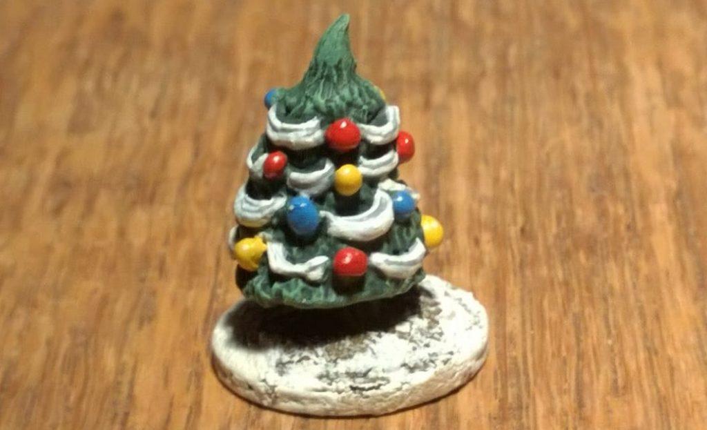 Ein Killer Xmas Tree von Alternative Armies für Horde of the Things (HOTT) aus der Seasons of Celebration Range