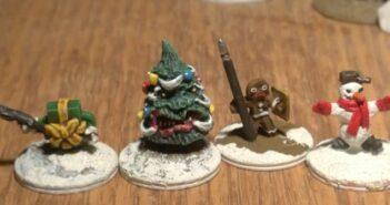 Alternative Armies: Angry Gingerbread aus der Seasons of Celebration Range für Hordes of the Things (HOTT) von der Wargames Research Group