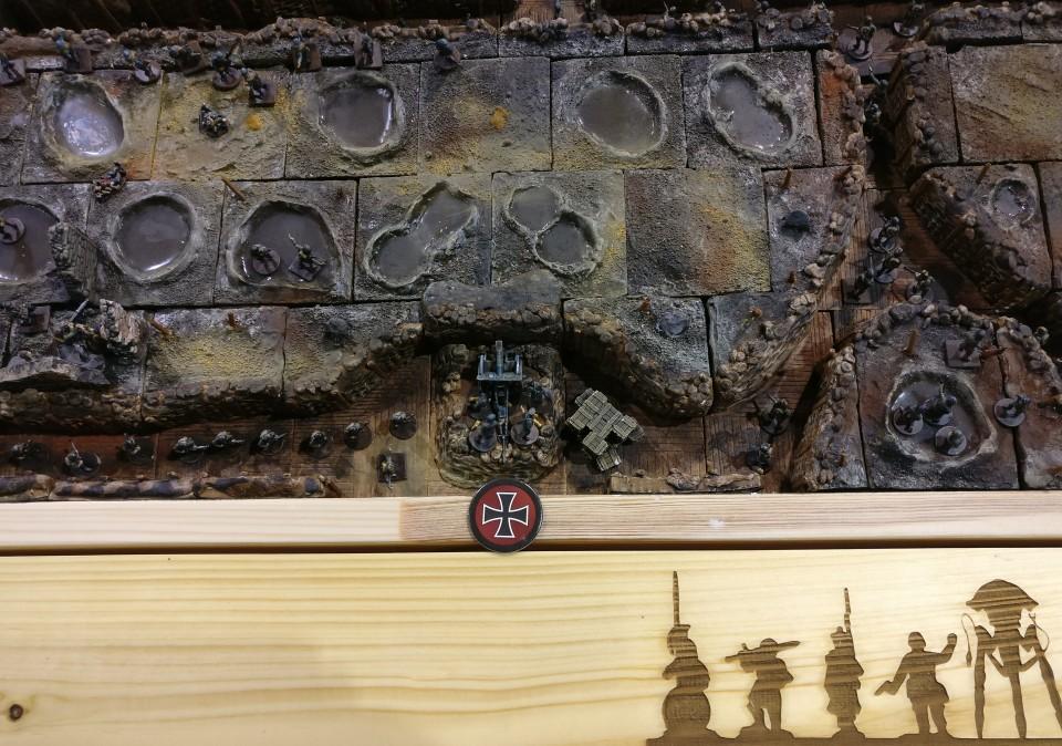 Die modulare 1.-Weltkrieg-Spielplatte der Ad Arma auf der Crisis 2018