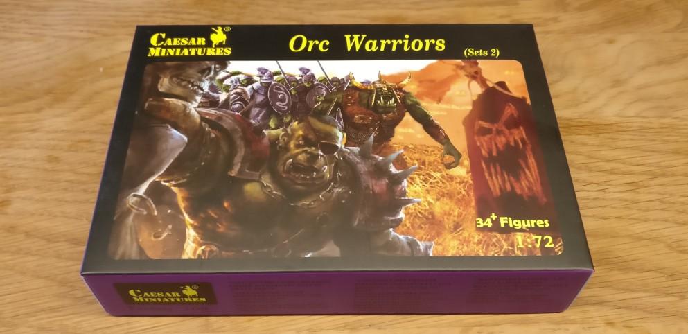 "Von Cesar hat sich der Doncolor das Set (Nr.2) ""Orc Warriors"" ""Fantasy 109"" geholt."
