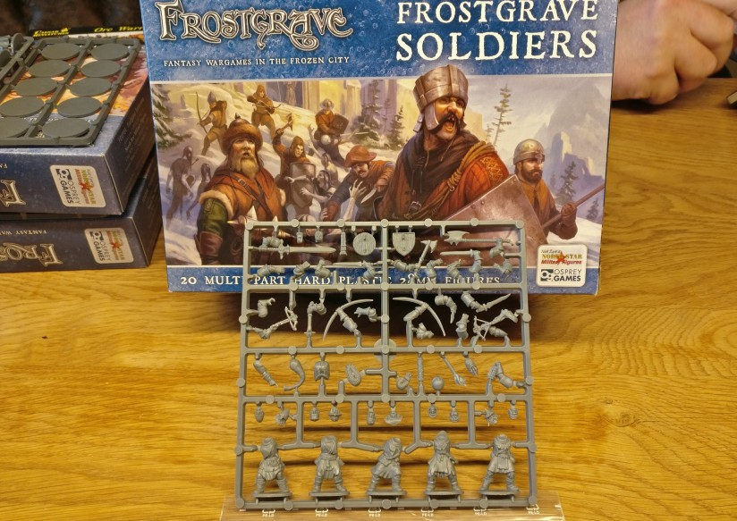 "Von Frostgrave hat sich Doncolor die Packung ""Soldiers"" FGVP01 geholt."
