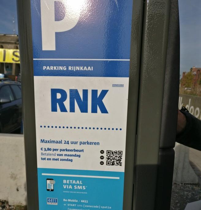 Der Unhold in Person. Parken in Belgien ist ein Graus!