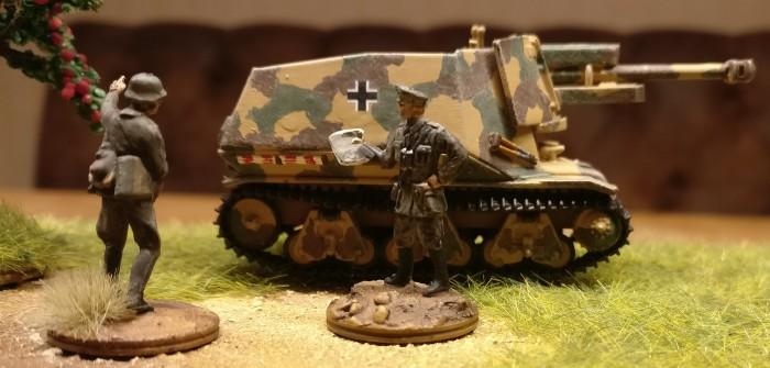 10,5 cm leFH 18 Selbstfahrlafette auf Geschützwagen 39H(f) von DeAgostini