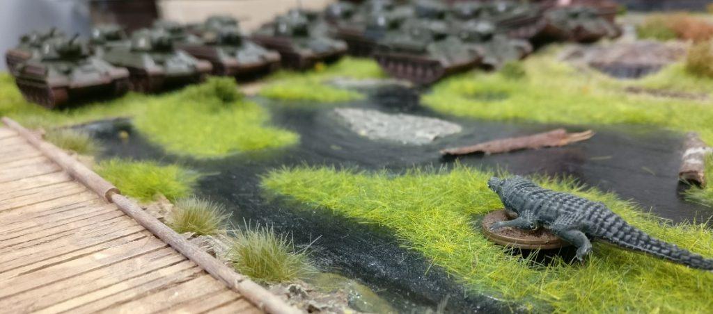 Kleiner Wermutstropfen: die Propjet-Sümpfe versperren der 5. Stoß Armee ein wenig den Weg.