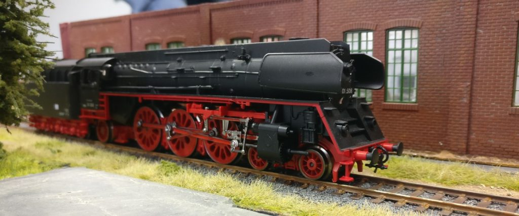 Okay, ein letztes Foto der Baureihe 01 508.