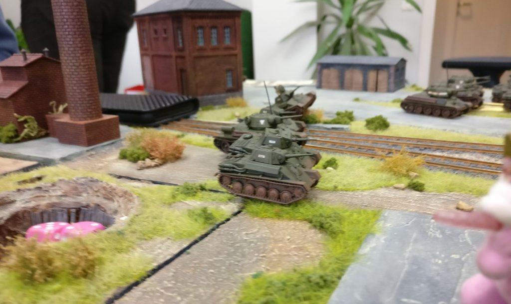 Angriff! Die Spitzen der 5. Stoß Armee erreichen Shturmigrad.