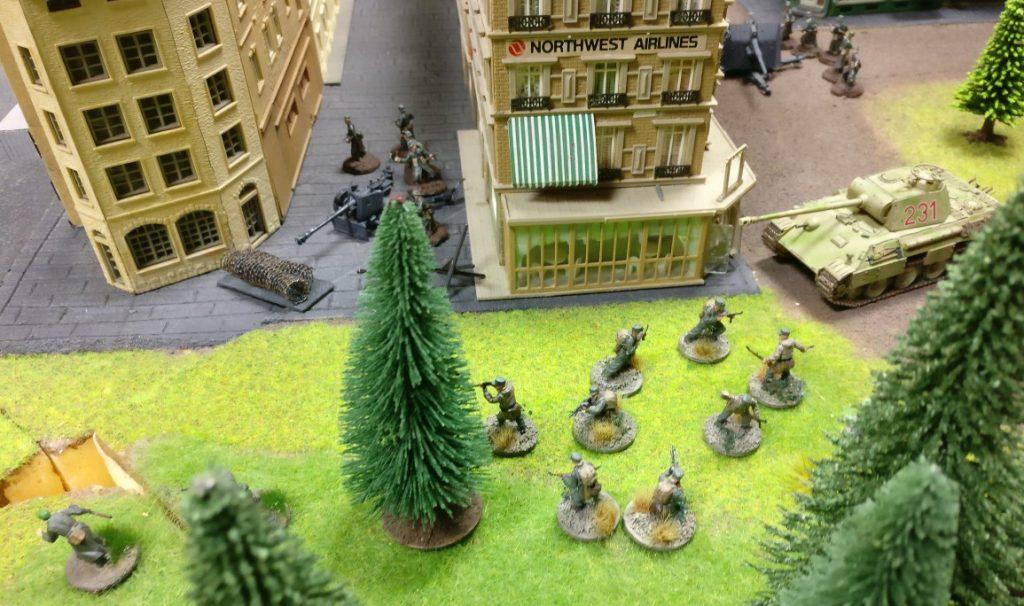 Dieser Bereich von Eisenstadt-Fritzvorstadt wurde von der Pak 40 und dem Panther eisern verteidigt.