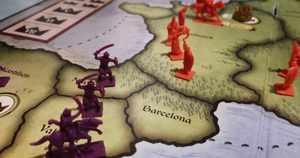 Wehe, wenn sie losgelassen. Eine Horde Einhörner machte die Risiko-Welt von Europa unsicher.