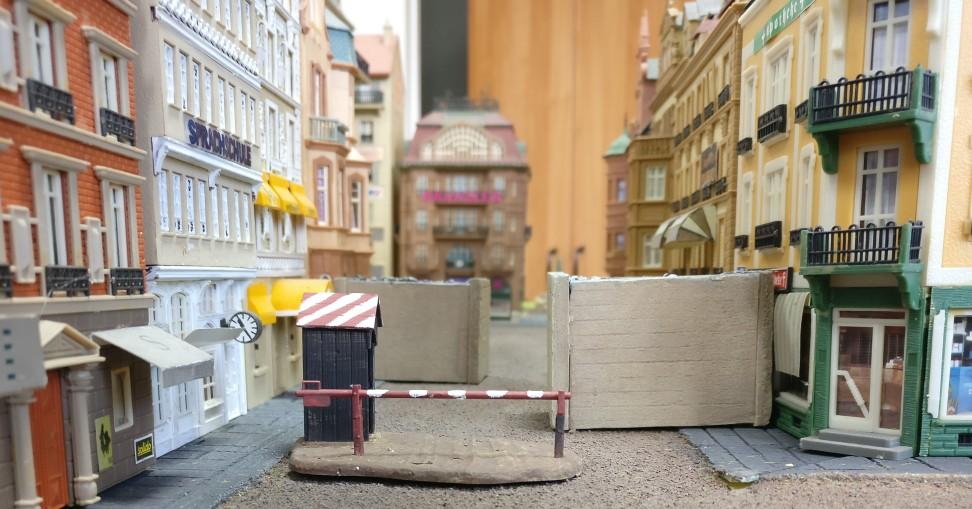 Straßenbarrikaden in Eisenstadt