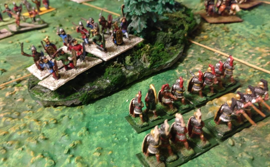 Diese Briten stöberten zwei von Sturmis schweren Divisionen im Wald auf.