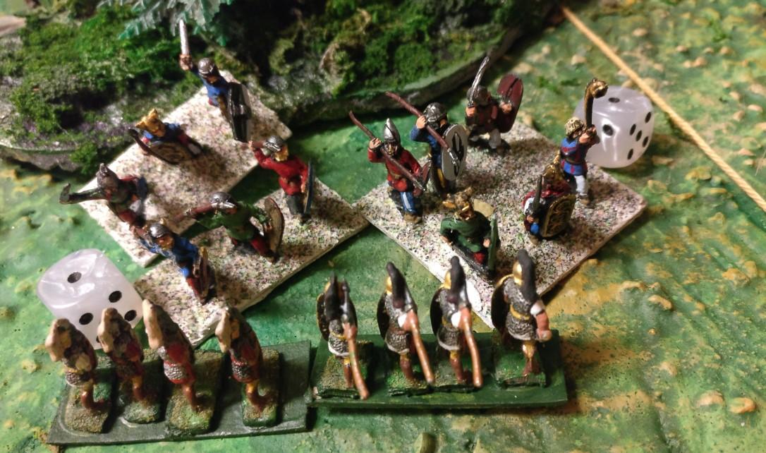 Doch die zweite schwere Division des Sturmi räumt anschließend gründlich auf.