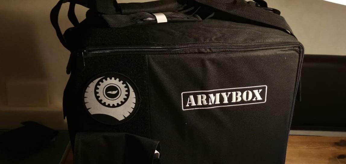 Sehr gediegen, die ARMYBOX von Pfeffer Modell und Formenbau