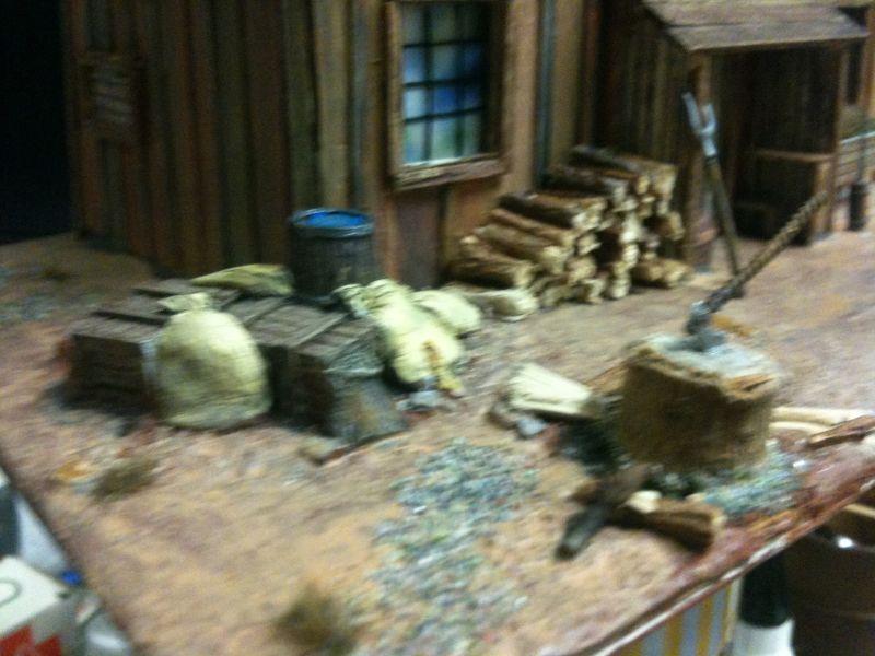Der Spielplatz für die Holzhackerbuam !