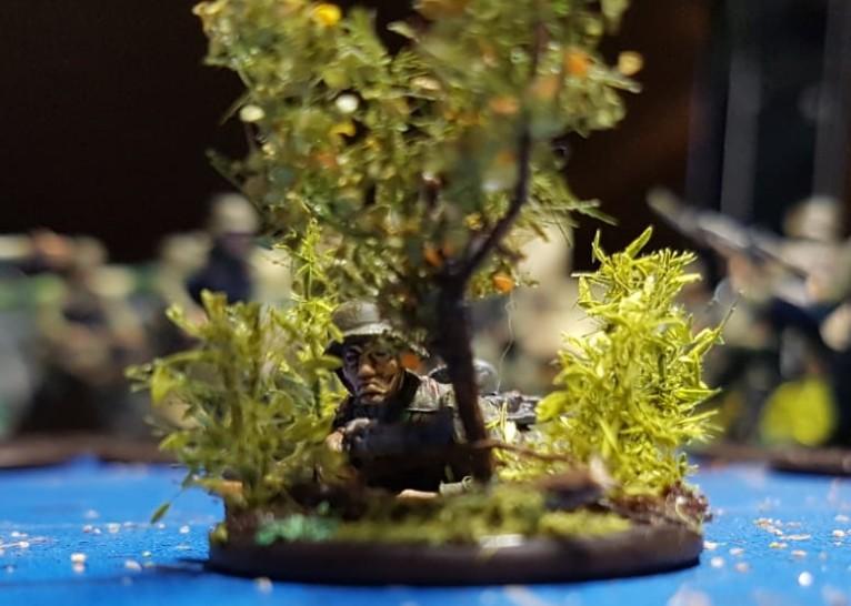 Der Sniper der Truppe! Einen endgeilen Scharfschützen hat die Bolt Action Truppe auch noch bekommen.