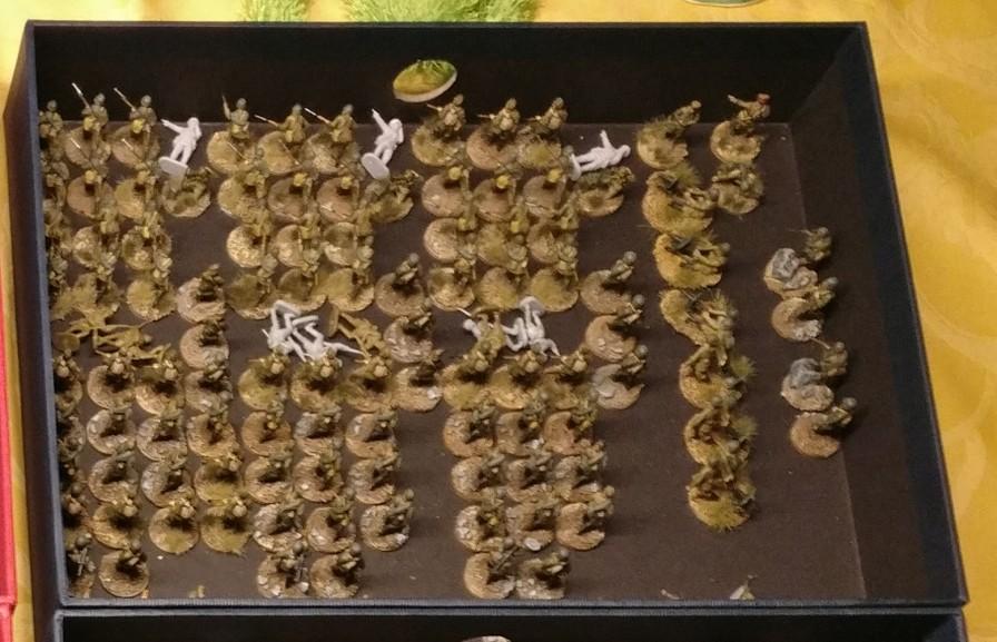 Die 30. Schützendivision der 9. Armee.