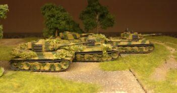 Flames of War German Army: Sturmis Haul beim David