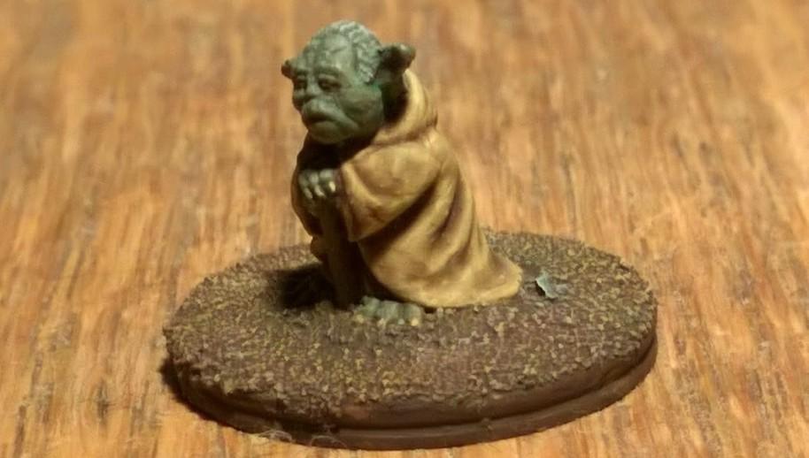 Yodi, Jedi-Meister des Alten Jedi-Ordens und führendes Mitglied im Hohen Rat der Jedi. Star Wars at its best.