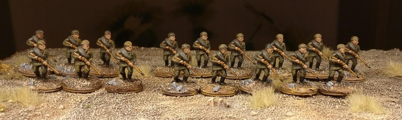 Die andere Schützengruppe.
