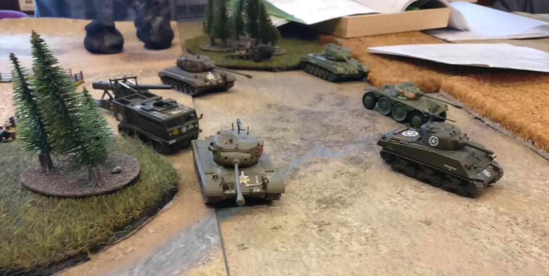 Martins alliierte Einsatztruppen. Es sind auch dort eher Dickhäuter im Einsatz.