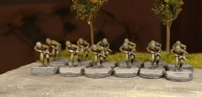 Eine neue Idee für die 20mm-Basen der 10. NKWD-Division