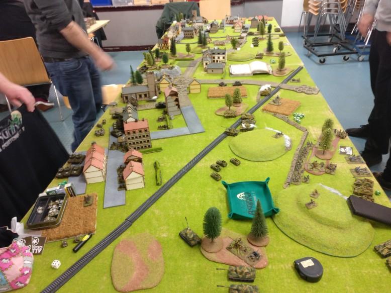 Das Battlefield, wie es sich dem Sturmi nach Eintreffen am Ort des Geschehens präsentierte.