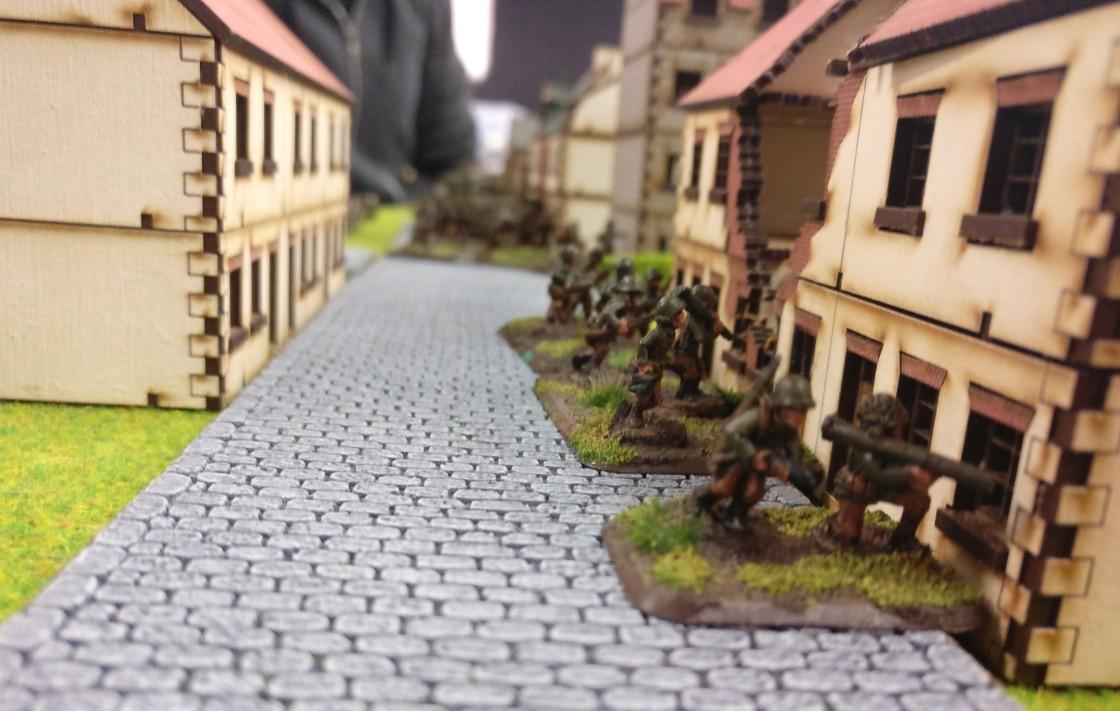 Hierhin wollen die Panther. Der kleine Ort in den Ardennen ist von US-Truppen besetzt.