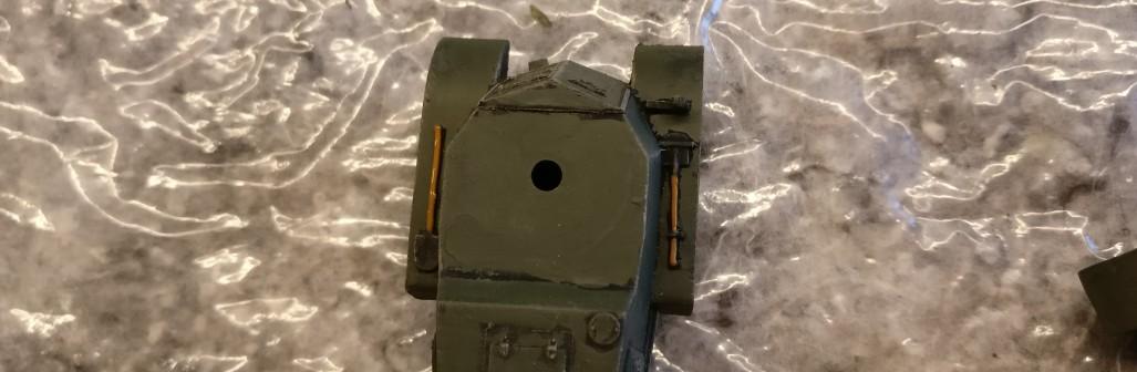 Die Werkzeuge der Panzerwagen BA-1/BA-6 wurden ebenfalls bemat.
