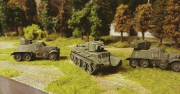 Soviet Armored Car BA-6: Panzerwagen für die Sturmi Army