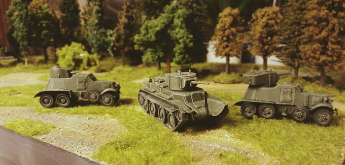 Soviet Armored Car BA-1 & BA-6: Panzerwagen für die Sturmi Army