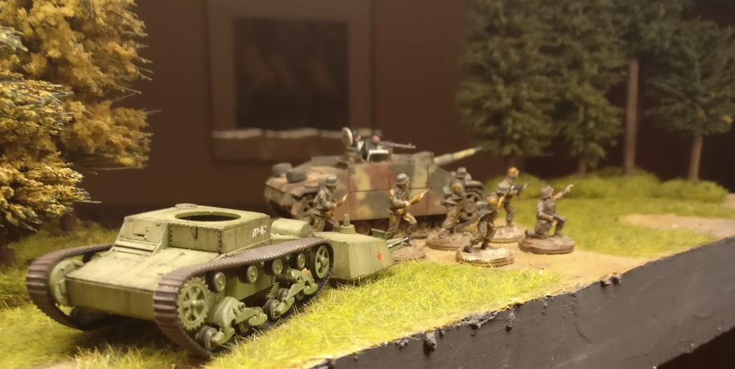 Sturmhaubitze 42 (StuH 42) und das Regelwerk PBI / Poor Bloody Infantry. Profilwerte und Bauvorschläge von XENA.