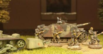 Sturmhaubitze 42 (StuH 42): ein Sturmgeschütz für den Einsatz mit dem Regelwerk PBI / Poor Bloody Infantry. Interessante Erkenntnisse von XENA.