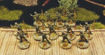 Sumpfrussen: Verstärkung und Nachschub für das 44. Schützenregiment.