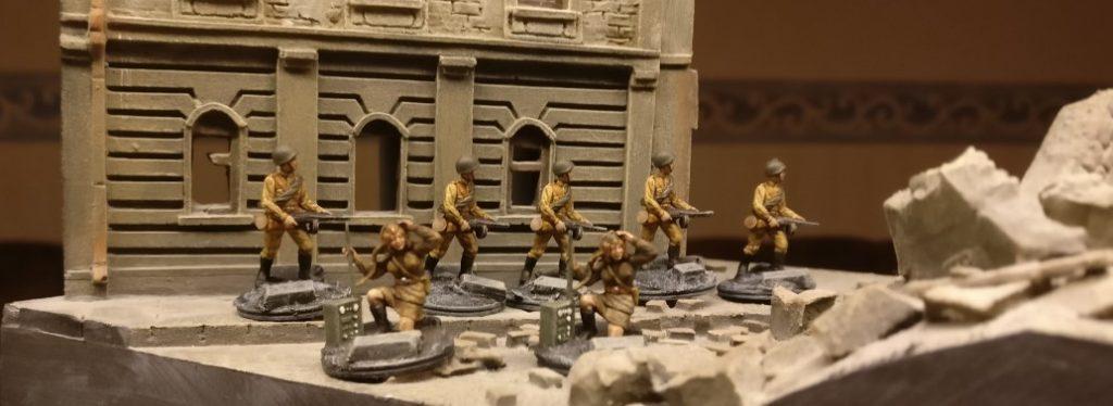 Auch aus dem Esci Set kamen einige PPSh-Schützen hinzu.