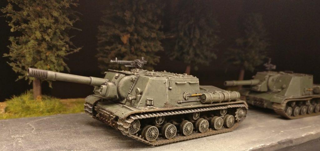 ISU-152 dürfen natürlich in der Late-War-Battle nicht fehlen.