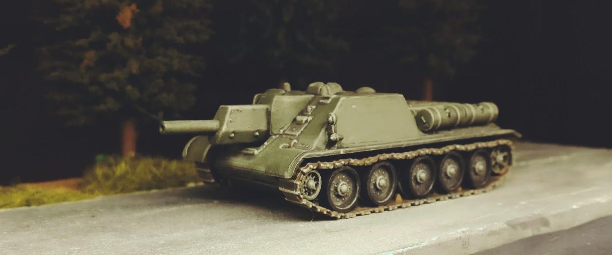 Das SU-122 (Pegasus WW2 SU-122 Soviet Self- Propelled Howitzer 7664)