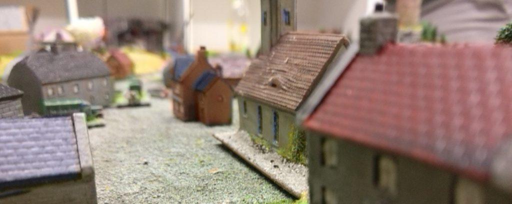Eine weitere Dorfszene.